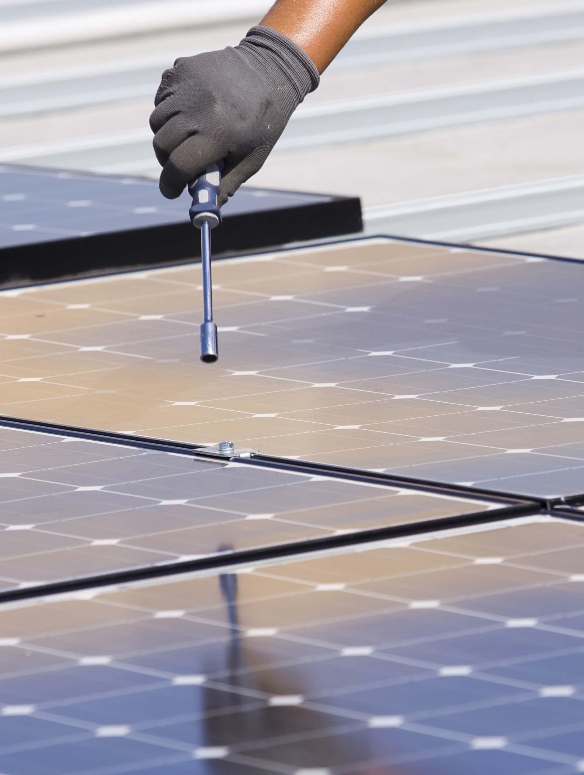 Diseño y mantenimiento de instalaciones de energía solar
