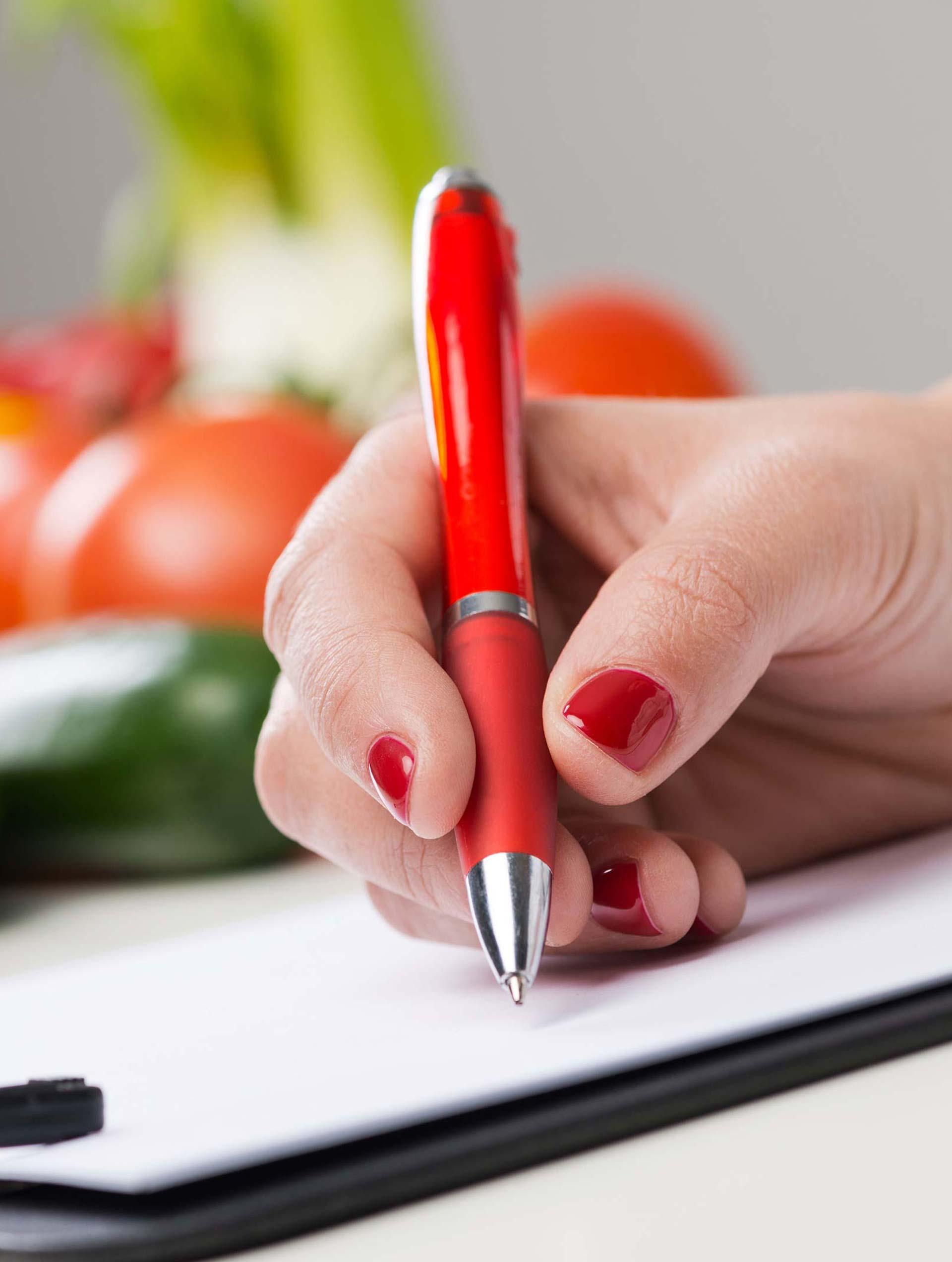 Planificación de menús y dietas especiales