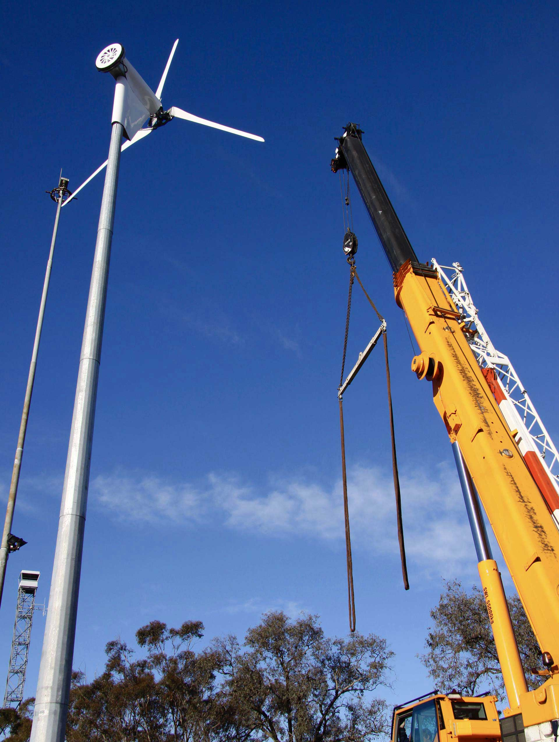 Instalaciones de energía eólica