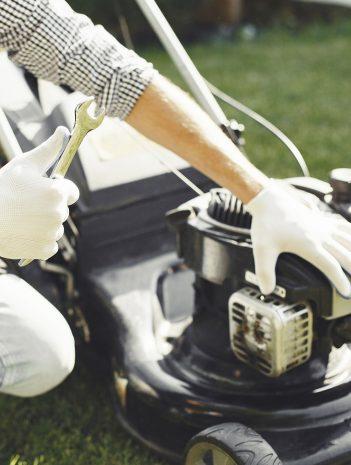 Maquinaria de jardinería y su mantenimiento