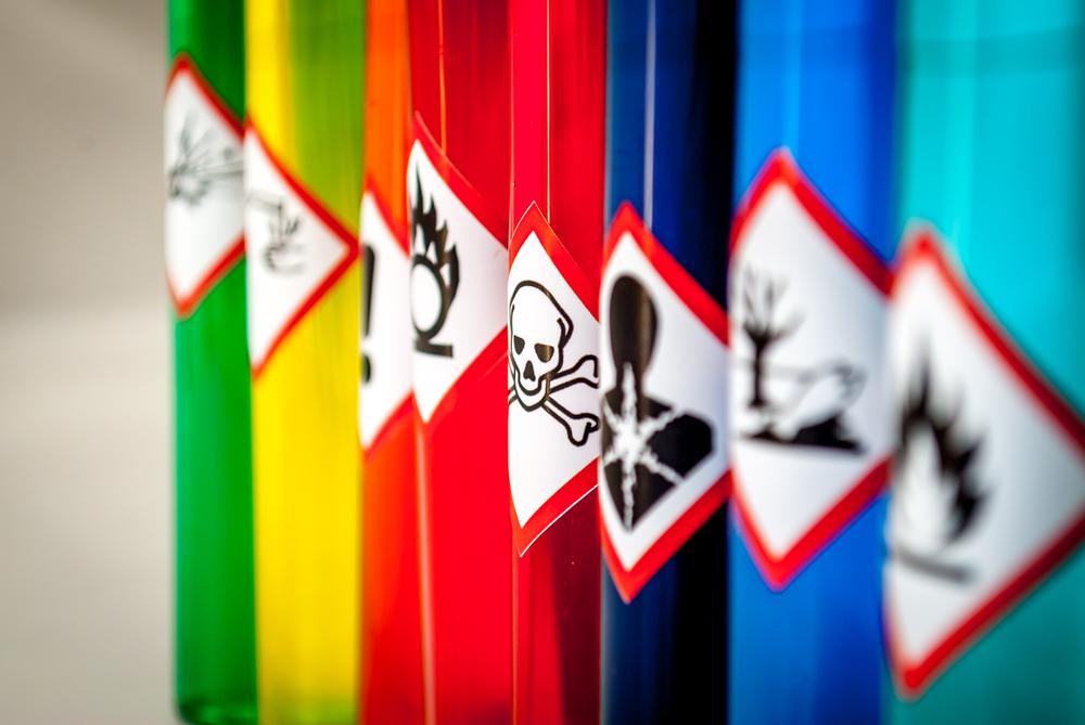 Tipos de productos químicos y su clasificación